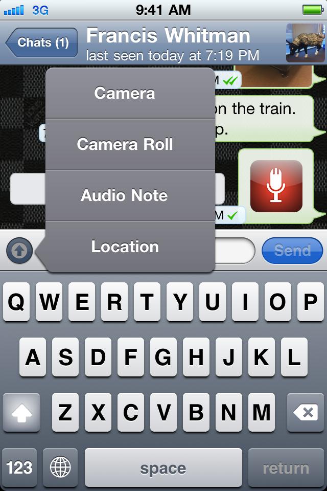 WhatsApp Messenger скачать приложение для Айфона.