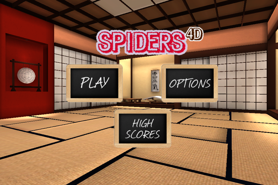Screenshot Spiders 4D